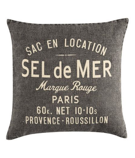 French chair pillow