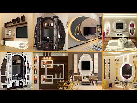 أحدث ديكورات مكتبات الشاشة Tv جبس بورد 2021 Gypsum Board Libraries Youtube In 2021 Modern Decor House Styles Modern House