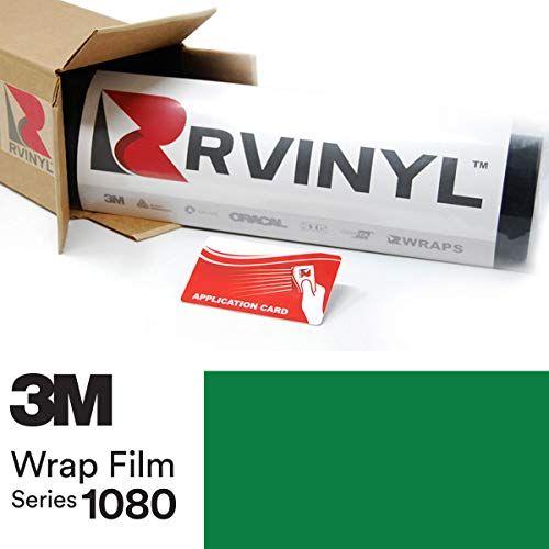 1//2ft x 5ft 3M 1080 Gloss Black Air-Release Vinyl Wrap Roll VViViD