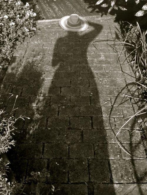 L' ombre de nos bonnes grands-mères nous accompagne. / By Mick Lindberg.: