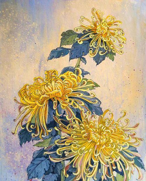 Flower Art In 2020 Flower Art Japanese Chrysanthemum Chrysanthemum