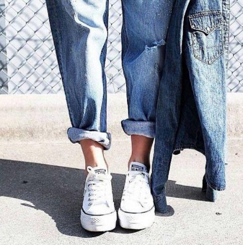 converse platform ox fashion