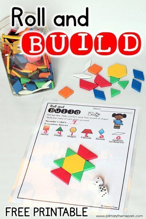 2d Shapes Activities For Kindergarten Shape Activities Kindergarten Shapes Kindergarten Kindergarten Math Games Fun activities for kindergarten