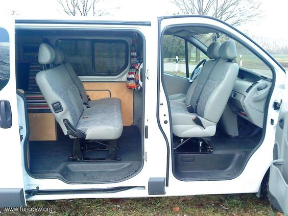 opel vivaro camper 1 9 cdti largo 6 plazas vivaro trafic. Black Bedroom Furniture Sets. Home Design Ideas