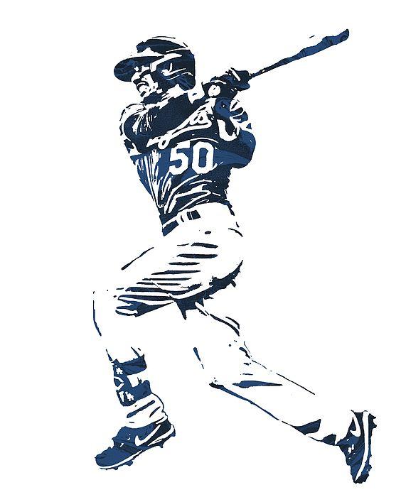Mookie Betts Los Angeles Dodgers Watercolor Strokes Pixel Art 1 By Joe Hamilton In 2020 Dodgers Pixel Art Los Angeles Dodgers