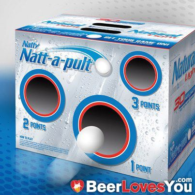 Definitely going to be playing this! GREAT for tailgating! Would YOU play? #BeerLovesYou