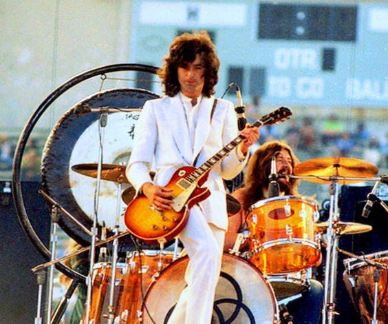 - Jimmy Page and John Bonham of Led Zeppelin -