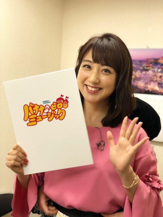 川田裕美アナウンサーのピンク