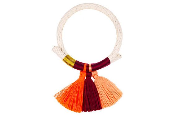 Sunset Nima Tassel Bracelet on OneKingsLane.com