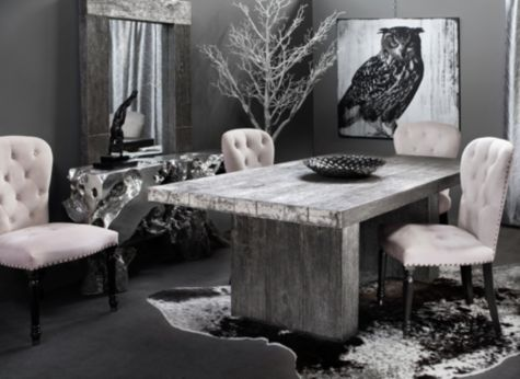 Loooooving This Timber Dining Table From Z Gallerie Looks