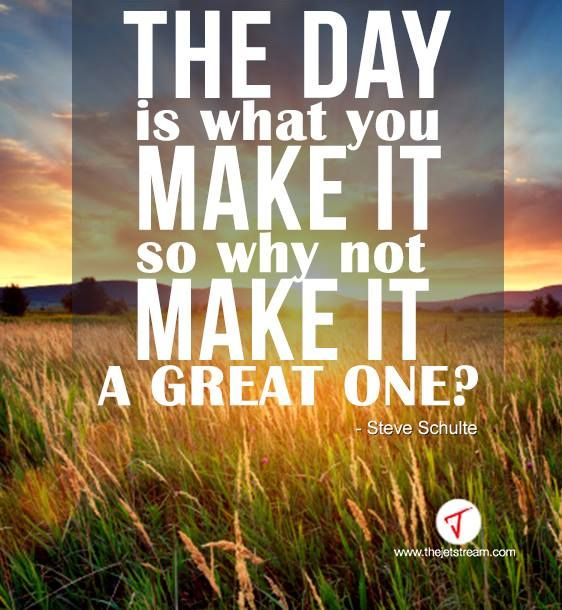 Make it great
