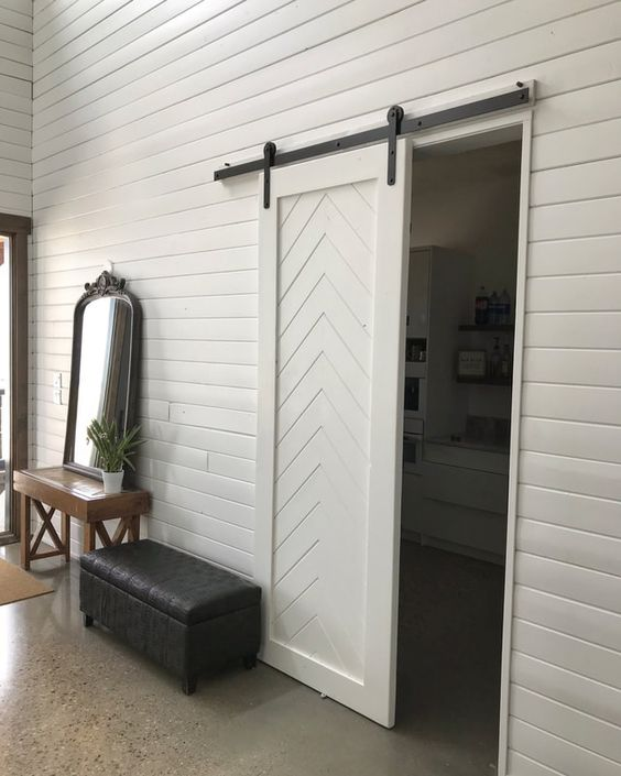 HIS & HER sliding barn doors - Barn Doors and Custom Furniture