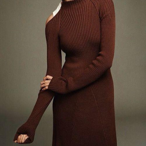 sweater dress…