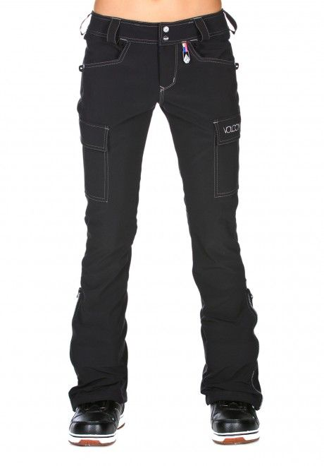 Comfiest snowboarding pants ever! Shi Stretch Pant (Volcom Snow 12/13) #newgear  super comfy :)