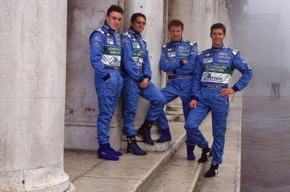Equipo Benetton.