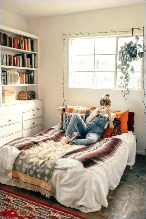Aesthetic Bed Aesthetic Room Decor Small Room Decor Full Size Of