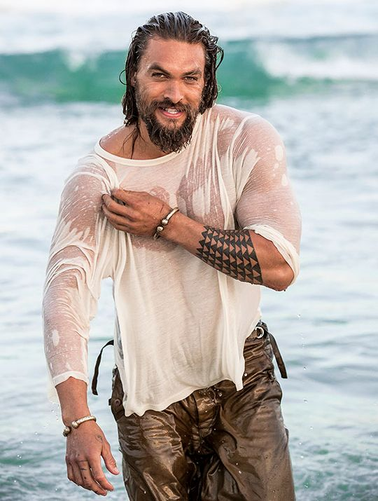 Jason Momoa photographed by Cybelle Malinowski for American Way (2017)