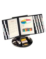 Reference Organizer with Accessory Tray