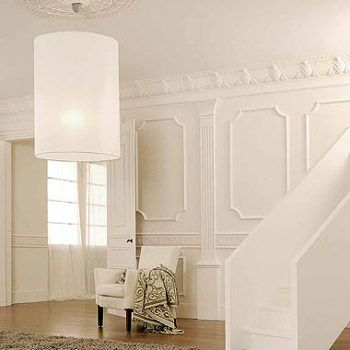 Wall mouldings for hallway beautiful home projects for Dining room molding panels