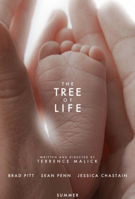"Movie poster ""the tree of life"""