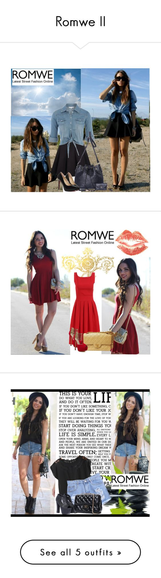 """Romwe II"" by selmica11 ❤ liked on Polyvore"