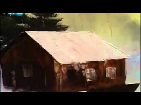 Bob Ross Se 19 Ep 7 Covered Bridge Oval The Joy of Painting - YouTube
