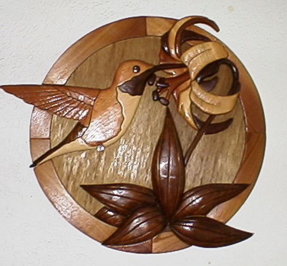 Wood carvings hummingbirds and carving on pinterest