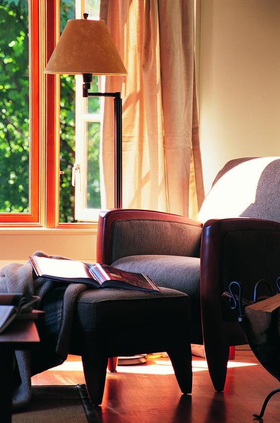 A elegância e o conforto de um espaço íntimo.