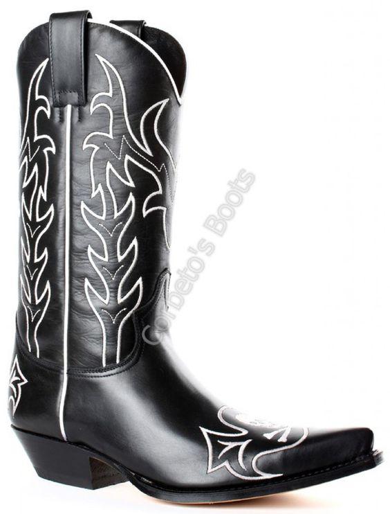 Corbeto's Boots | 9769 Cuervo Krass Negro | Bota cowboy Sendra ...