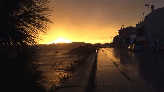 Getting cold and windy in La Maddalena this November!