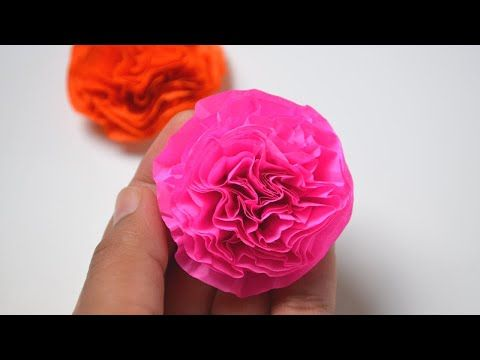 Tissue Paper Flowers Life With Lovebugs Tissue Paper Flowers Paper Flowers Diy Paper Flowers