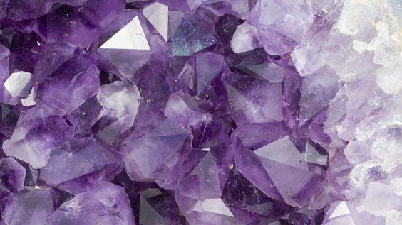 Amethyst Crystals Wallpaper 1431510 Wallbase Cc