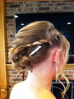 Beautiful prom hair! Stylist- Shelly Model- Emily H.