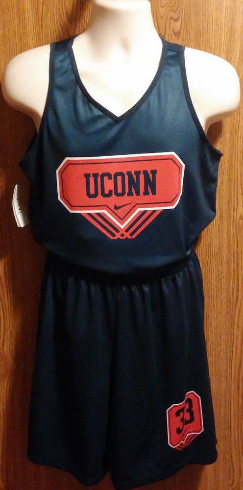 Men's UCONN Huskies Nike Uniform Reverisible Jersey Size Medium ...