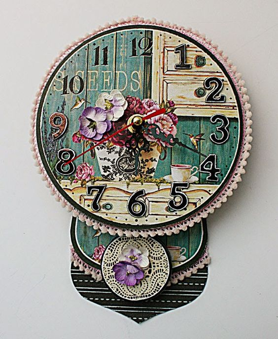 Do More With Less: An altered clock for Xyron, Core'dinations and Petaloo blog hop....a tutorial