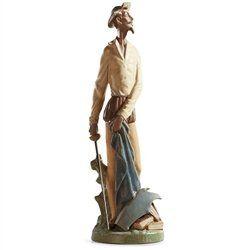 Lladro Porcelain Figurine Quixote Standing Up. #Lladro #Statue #Sculpture #Decor #Gift #gosstudio .★ We recommend Gift Shop: http://www.zazzle.com/vintagestylestudio ★