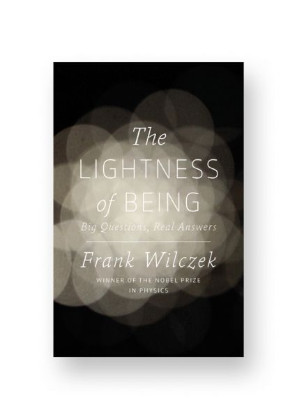 The Lightness of Being cover artwork by Stefanie Posavec