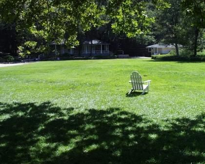Fun place to explore.  The lawn area at Peter Strauss Ranch offers the chance to have a picnic while you enjoy this one of a kind historic site.