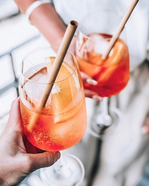 Live sustainably by swapping a single use plastic straw with a bamboo straw. Available at Biome Eco Stores. Photo by @annetheresebengtsson on Instagram.