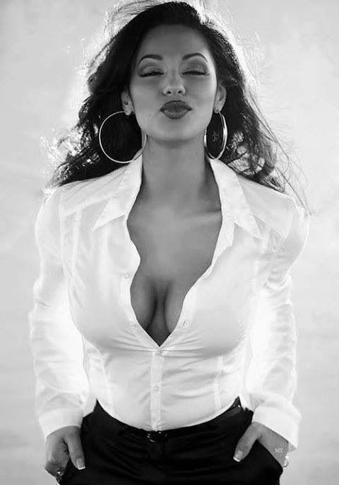 White shirt - hoop earrings | And what not | Pinterest | White ...