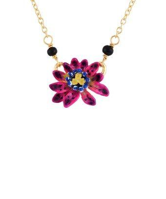 Les Nereides Exoplanet Little Passion Flower Necklace Lesnereides Passion Flower Flower Necklace Flowers