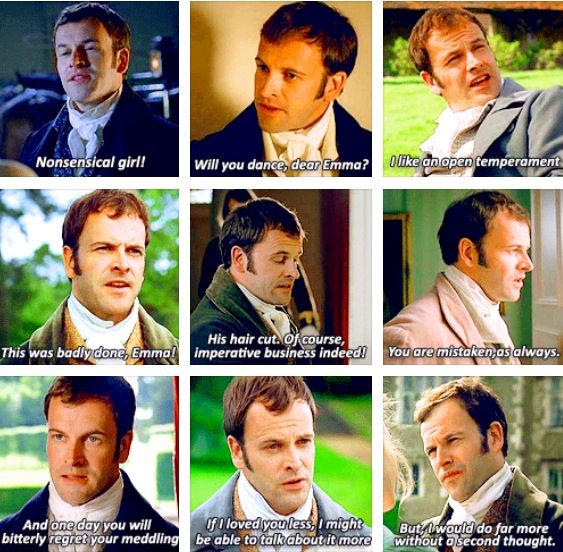 BBC Emma / some of my favorite Mr. Knightley quotes: