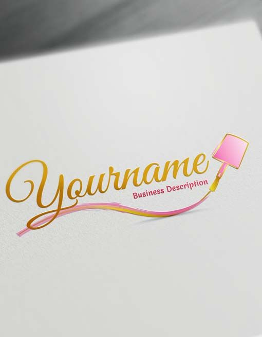 Create Your Own Nail Artist Logo Free With Nails Logo Maker Nail Logo Salon Logo Artist Logo