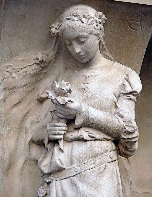beautiful Pere Lachaise Cemetery, Paris