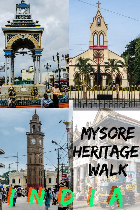 Solo Mysore Heritage Walk Karnataka India