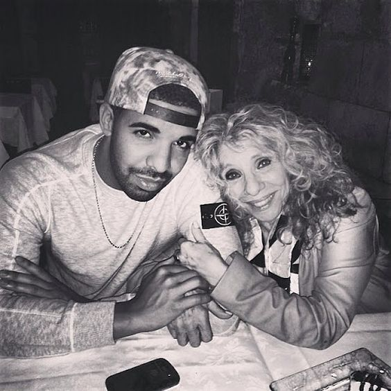 Drake and his BEAUTIFUL Mother!