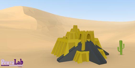 Tutorials Tinkercad: Dissenya un ziggurat mesopotàmic