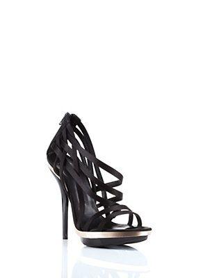 Versace Women Cutout Platform Sandals