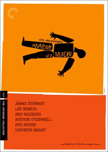Anatomy of a Murder, one of the best poster from Saul Bass