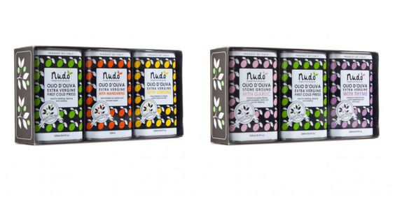 Extra vergine olive oil 'Citrus Club Gift Box' & 'The Emperor's Herbs Gift Box' by Nudo.  http://t-h-i-n-g-s.blogspot.com